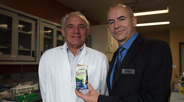 """""""Throat Spray Proven Effective for Fighting Cold and Flu"""", Winnipeg Free Press"""