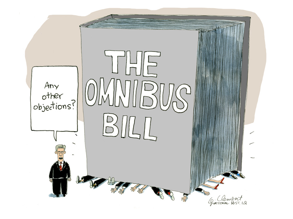 a report on the omnibus bill Report: trump will use this 'reagan trick' to gut omnibus bill.
