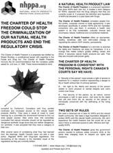 Download Charter of Health Freedom Handout