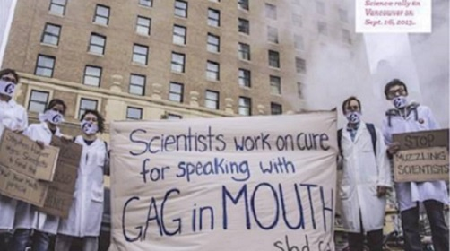 Scientists gag order 500 x 280