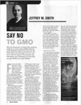 Say No to GMO Jeffrey Smith Prosper article image