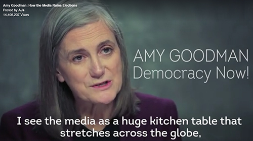 Democracy Now Amy Goodman Website 500 x 280