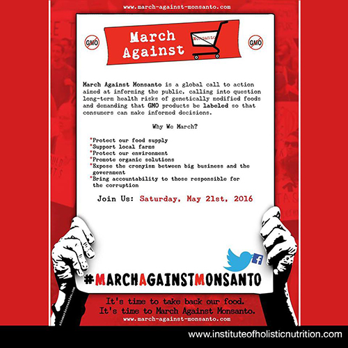 March Against Monsanto Website 500 x 500