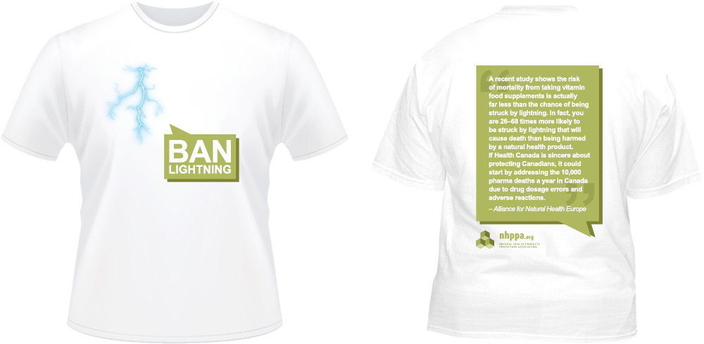 Ban Lightning T-shirt
